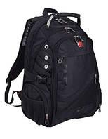 Рюкзак Swissgear № 8810. + USB + дождевик Качество Бомба!