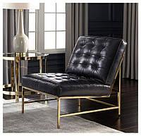 """Кресло """"Босс Люкс"""" кресло лофт, мягкое кресло, кресло для дома, офиса, кафе, кресло на металлическом каркасе"""