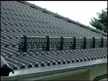 снігоутримувачі на даху