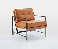 """Кресло """"Шенон"""", кресло лофт, мягкое кресло, кресло для дома, офиса, кафе, кресло на металлическом каркасе"""