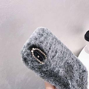 Меховой чехол для Xiaomi Mi 5X / Mi A1 Gray, фото 2