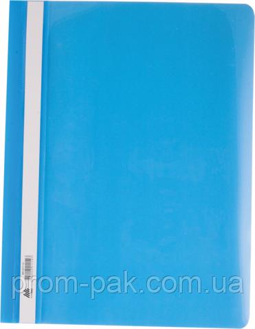 Скоросшиватель для бумаги Buromax ,голубой