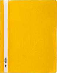 Скоросшиватель А4 для файлов BUROMAX  цвет: желтый