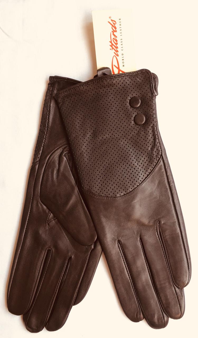 Перчатки Pittards 619 женские кожаные демисезонные
