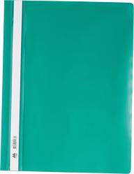 Скоросшиватель А4 для файлов BUROMAX  цвет: зеленый