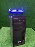 Компьютер Lenovo, 2 ядра Intel e6600 2.4 Ггц, 2 Гб ОЗУ, 160 ГБ HDD Настроен, подключай и пользуйся!, фото 5