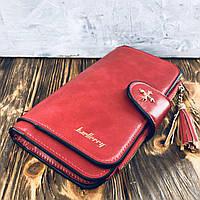 Женский кошелек портмоне Baellerry Red