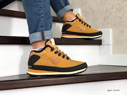 Мужские зимние кроссовки New Balance 754,рыжие, фото 2