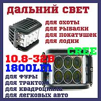 WL100 Светодиодные фары раб. света WL-113 27W CREE9 SP+TL Дальний свет, фото 1