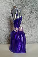 """Грузик для шаров фиолетовый 200 г (до 20 шаров 12"""" (30 см)) гипсовый"""