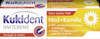 Kukident Haftcreme Kamille - Крем-клей для фиксации зубных протезов с рамашкой 40 г