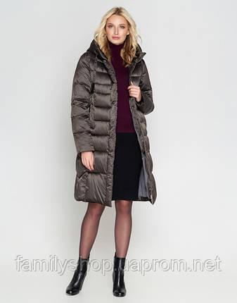 Воздуховик Braggart Angel's Fluff 29775 | Зимняя женская куртка капучино, фото 2