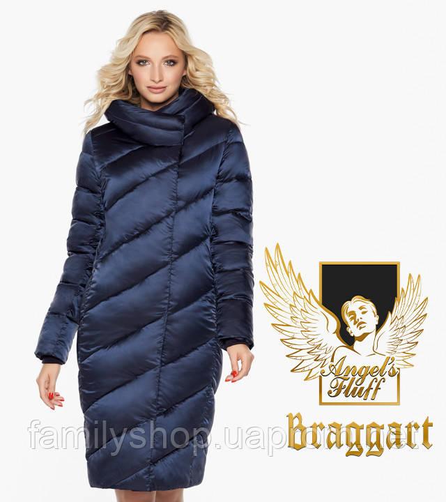 Воздуховик Braggart Angel's Fluff 30952   Куртка зимняя женская синяя