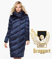 Воздуховик Braggart Angel's Fluff 30952 | Куртка зимняя женская синяя
