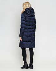 Воздуховик Braggart Angel's Fluff 47250 | Женская куртка на зиму синяя, фото 3