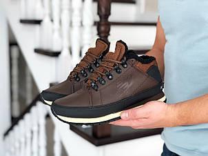 Мужские зимние кроссовки New Balance 754,коричневые, фото 2