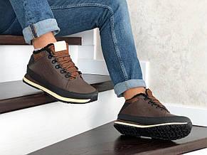 Мужские зимние кроссовки New Balance 754,коричневые, фото 3