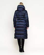 Воздуховик Braggart Angel's Fluff 31515 | Зимняя куртка женская синяя, фото 3