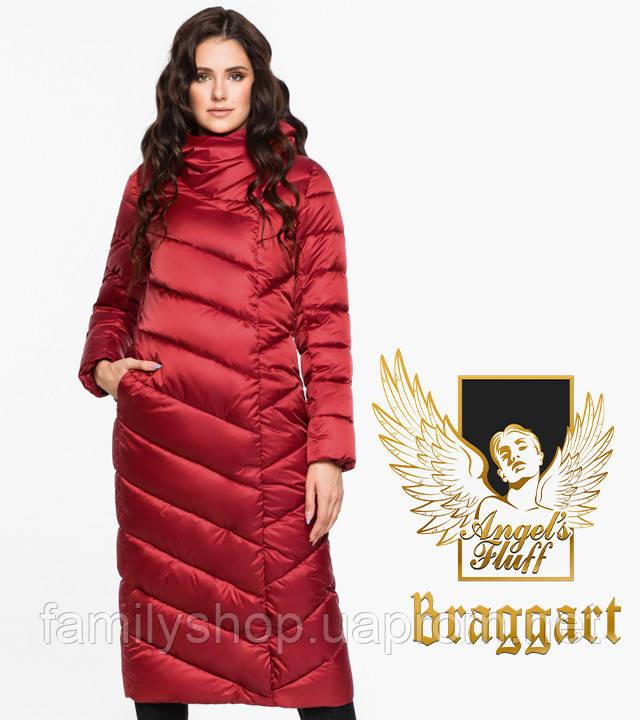 Воздуховик Braggart Angel's Fluff 31016   Зимняя женская куртка рубиновая
