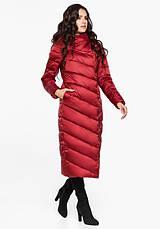 Воздуховик Braggart Angel's Fluff 31016   Зимняя женская куртка рубиновая, фото 2