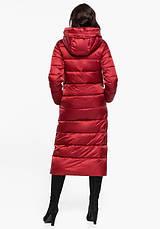 Воздуховик Braggart Angel's Fluff 31016   Зимняя женская куртка рубиновая, фото 3