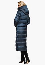 Воздуховик Braggart Angel's Fluff 31016 | Женская теплая куртка сапфировая, фото 3