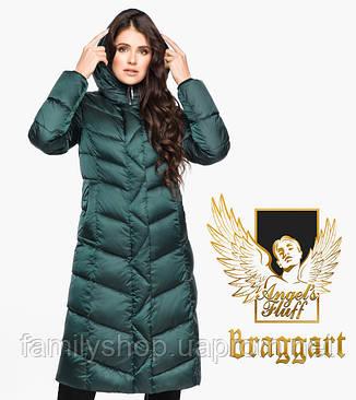 Воздуховик Braggart Angel's Fluff 31024 | Женская зимняя куртка изумруд, фото 2