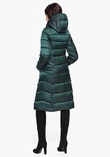Воздуховик Braggart Angel's Fluff 31024 | Женская зимняя куртка изумруд, фото 3