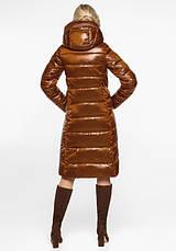 Воздуховик Braggart Angel's Fluff 31024 | Зимняя женская куртка сиена, фото 3