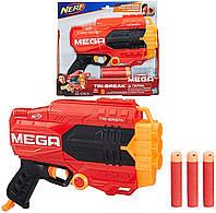 Бластер Нерф Мега Nerf N-Strike Mega Tri-Break Hasbro
