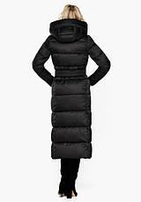 Воздуховик Braggart Angel's Fluff 31056 | Куртка женская зимняя черная, фото 3
