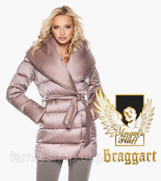 Воздуховик Braggart Angel's Fluff 31064 | Теплая женская куртка пудра