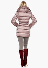 Воздуховик Braggart Angel's Fluff 31064 | Теплая женская куртка пудра, фото 3
