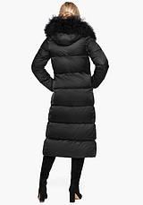 Воздуховик Braggart Angel's Fluff 31072 | Женская теплая куртка черная, фото 3