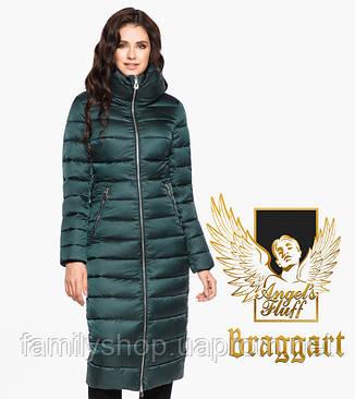 Воздуховик Braggart Angel's Fluff 31074   Зимняя женская куртка изумруд, фото 2