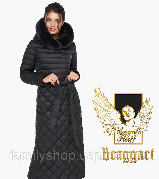 Воздуховик Braggart Angel's Fluff 31012   Куртка женская на зиму черная