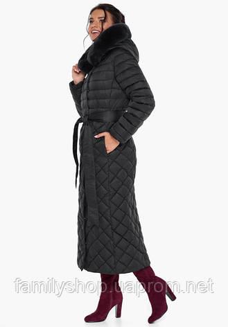 Воздуховик Braggart Angel's Fluff 31012   Куртка женская на зиму черная, фото 2