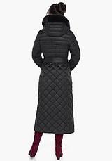 Воздуховик Braggart Angel's Fluff 31012   Куртка женская на зиму черная, фото 3