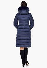 Воздуховик Braggart Angel's Fluff 31094 | Куртка зимняя женская синяя, фото 3
