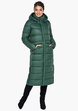 Воздуховик Braggart Angel's Fluff 31007 | Зимняя женская куртка нефритовая, фото 2