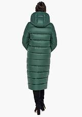 Воздуховик Braggart Angel's Fluff 31007 | Зимняя женская куртка нефритовая, фото 3