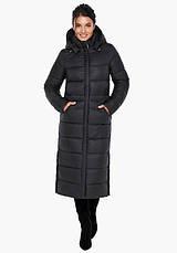Воздуховик Braggart Angel's Fluff 31007 | Куртка женская зимняя черная, фото 2