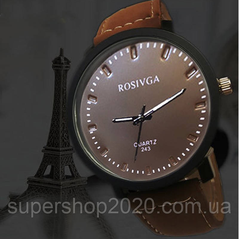 Чоловічі кварцові годинники ROSIVGA