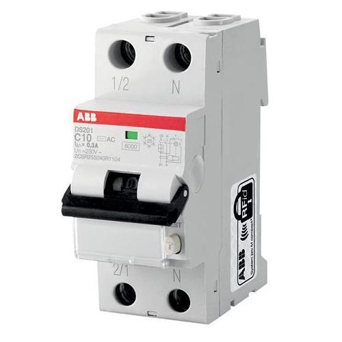 Дифференциальный автомат ABB DS201 C10 AC 30
