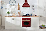 Кухонная  купольная вытяжка Fabiano Neo Rustic 90 (бордовый), фото 2