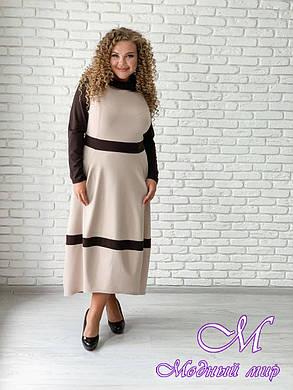 Женское повседневное платье больших размеров (42-90) арт. Бенье, фото 2