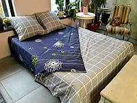 Постельное белье Luxyart Дуэт 29, размер двуспальный, сатин (LН-013)