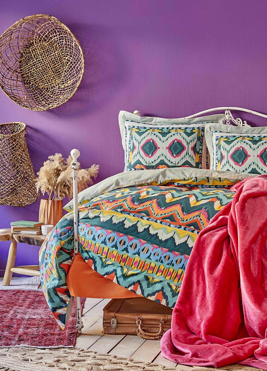 Набор Постельное белье с покрывалом Евро Mishka Karaca Home