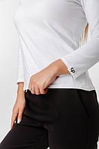 Женский гольф с укороченными рукавами /белый, 42-46, LL-024/, фото 2