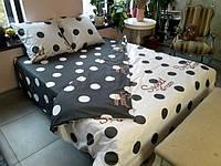 Постельное белье Luxyart Дуэт 27, размер двуспальный, сатин (LН-020)